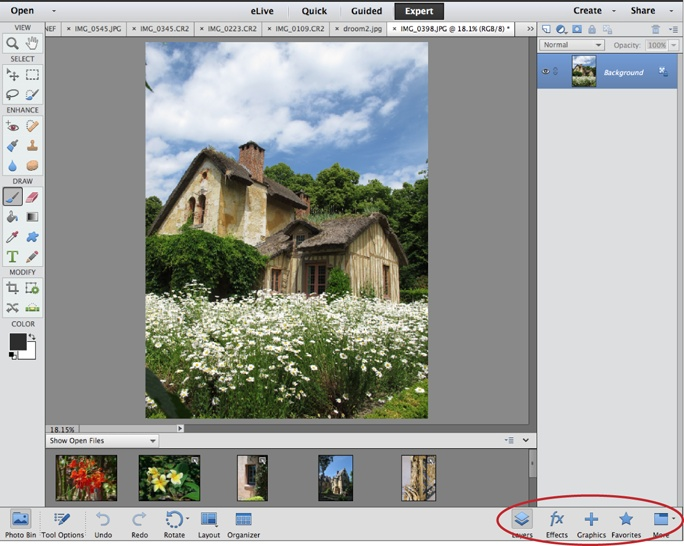 1 finding your way around elements photoshop elements 13 the rh safaribooksonline com adobe photoshop elements 11 manual free download adobe photoshop elements 11 manual
