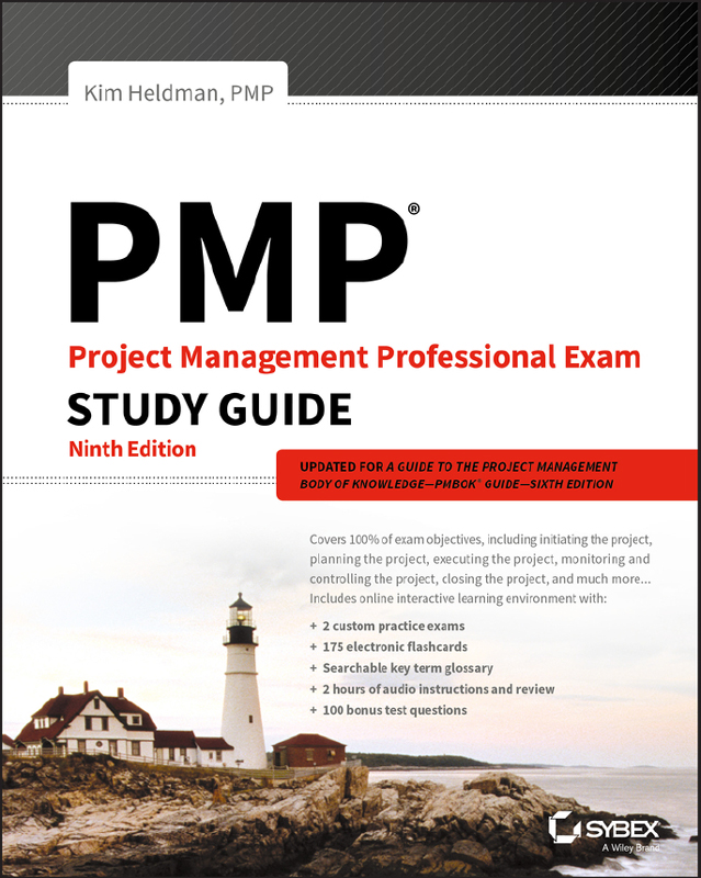 Pmp Project Management Professional Exam Study Guide Ninth Edition