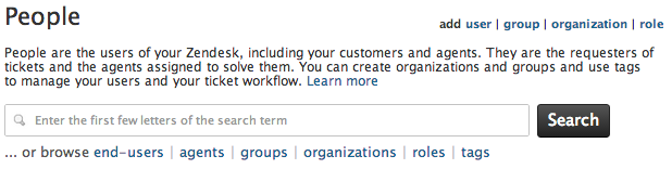 Amazing User Management Functions On The People Administration Page