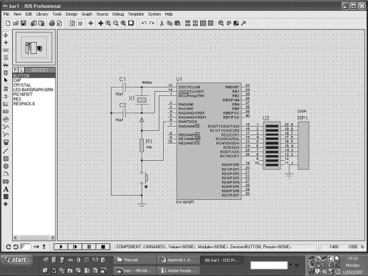 Schematic Circuit - Programming 8-bit PIC Microcontrollers
