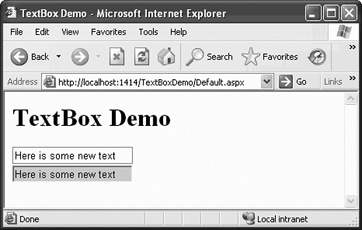 TextBoxDemo