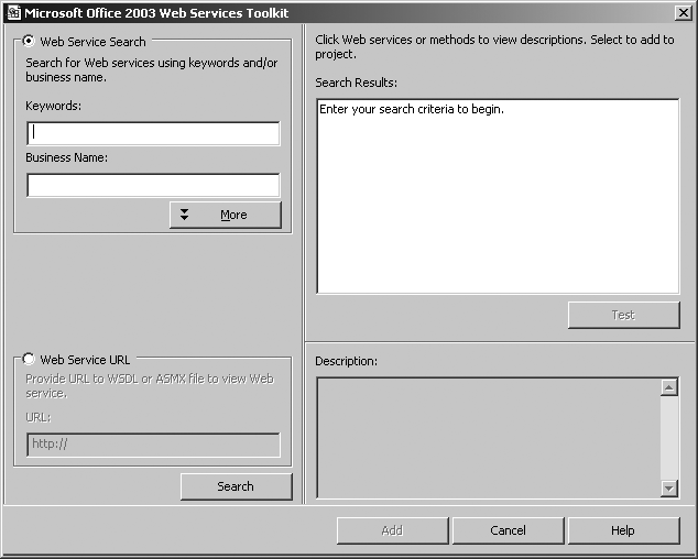 24 3 1  Use the Web Services Toolkit - Programming Excel