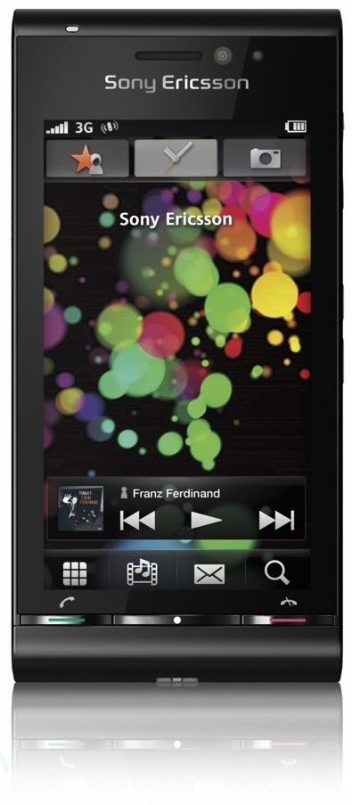 The Sony Ericsson Satio is a Symbian-based device (S60 5th edition), so it's very similar to the Nokia 5800 XpressMusic.