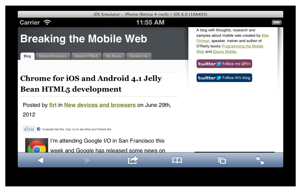 4  Tools for Mobile Web Development - Programming the Mobile Web