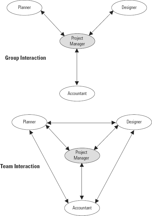 Chapter 13: Teams vs  Groups - Project Management Leadership