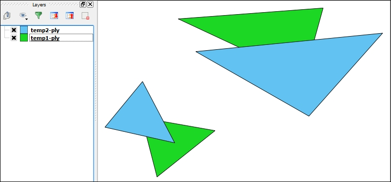 Union polygons without merging
