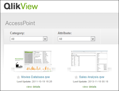 Testing the implementation - QlikView Server and Publisher [Book]
