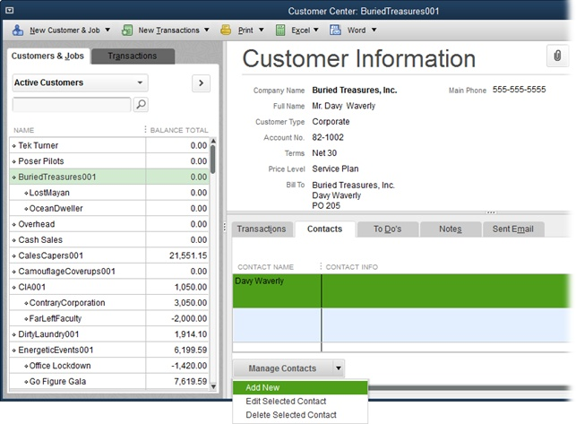 Setting Up Customers Jobs And Vendors QuickBooks The - How to export invoices from quickbooks to excel for service business