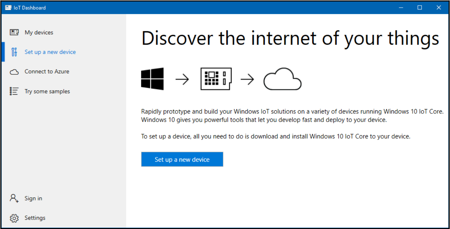 Downloading and installing Windows 10 IoT Core - Raspberry