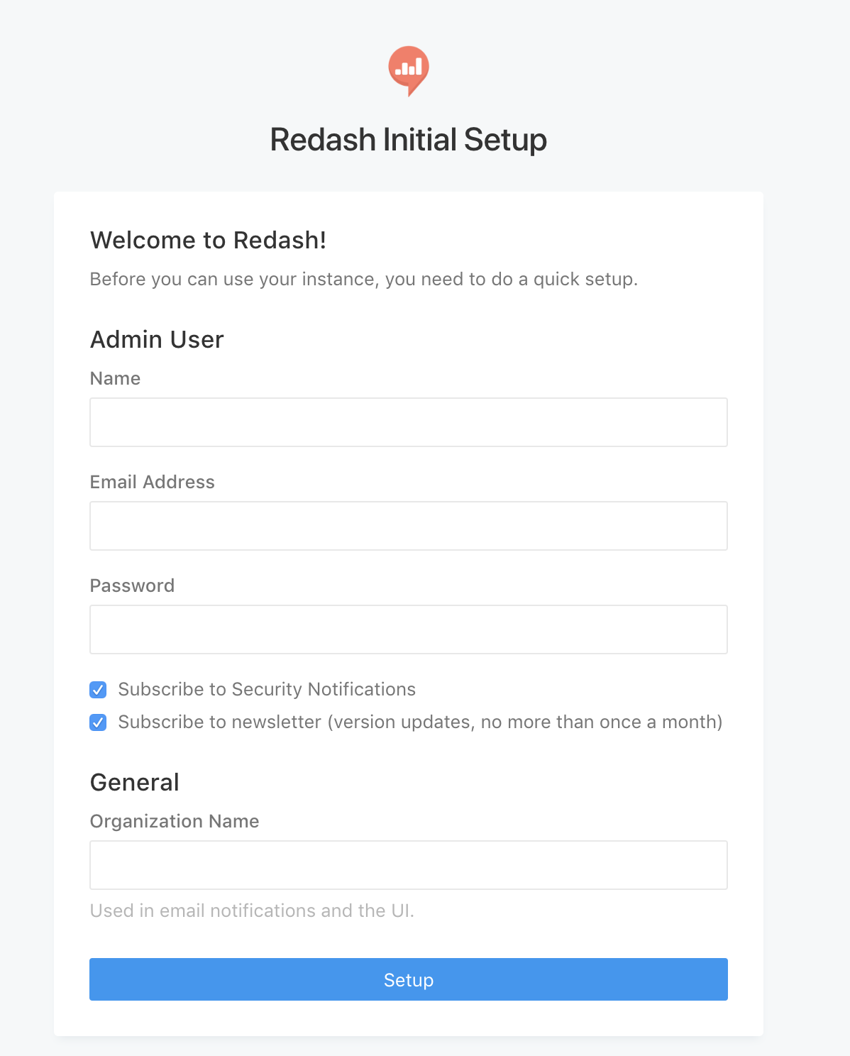 Launching an instance using Redash AMI - Redash v5 Quick Start Guide