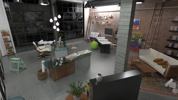 Chapter 24: Simulated Lighting - Rendering in SketchUp: From