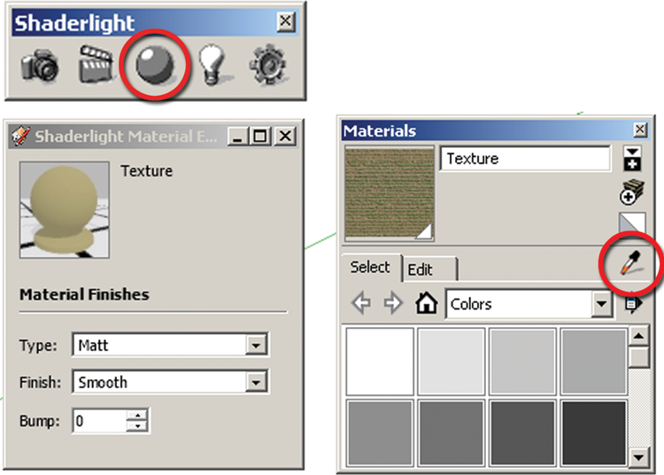 Apply Texture Values Rendering in SketchUp From Modeling to