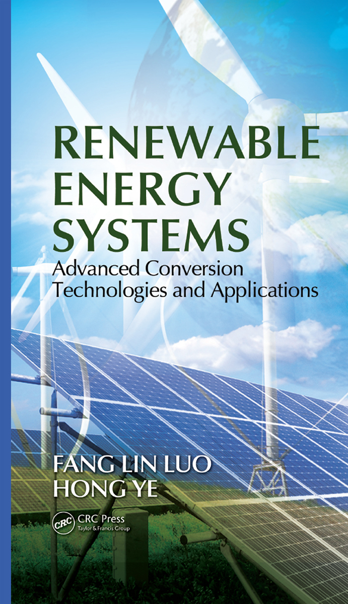 Cover - Renewable Energy Systems [Book]