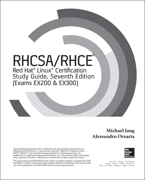 Title Page - RHCSA/RHCE Red Hat Linux Certification Study Guide ...