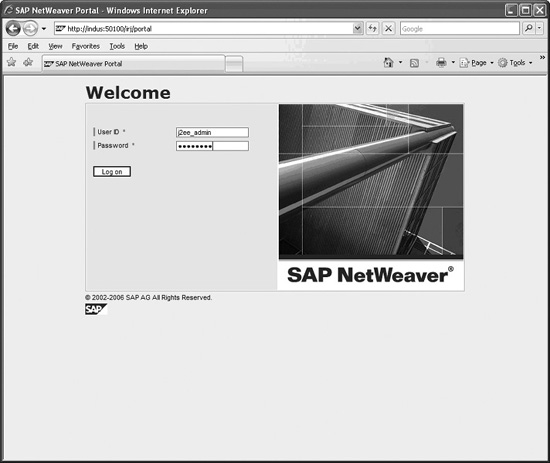 SAP Three-Tier Architecture for Java Applications - SAP