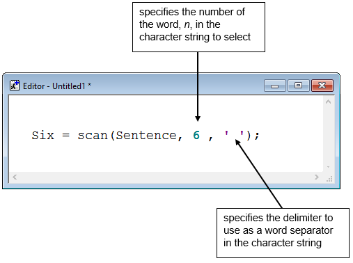 Modifying Character Values with Functions - SAS Certification Prep ...