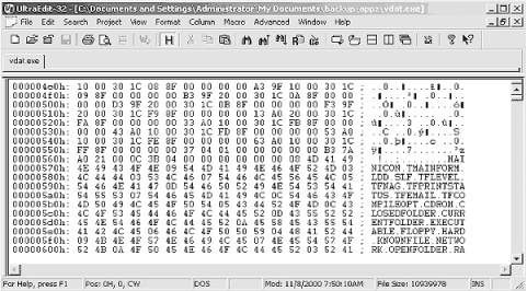 For opcode patching, we recommend UltraEdit, an advanced Windows hex editor