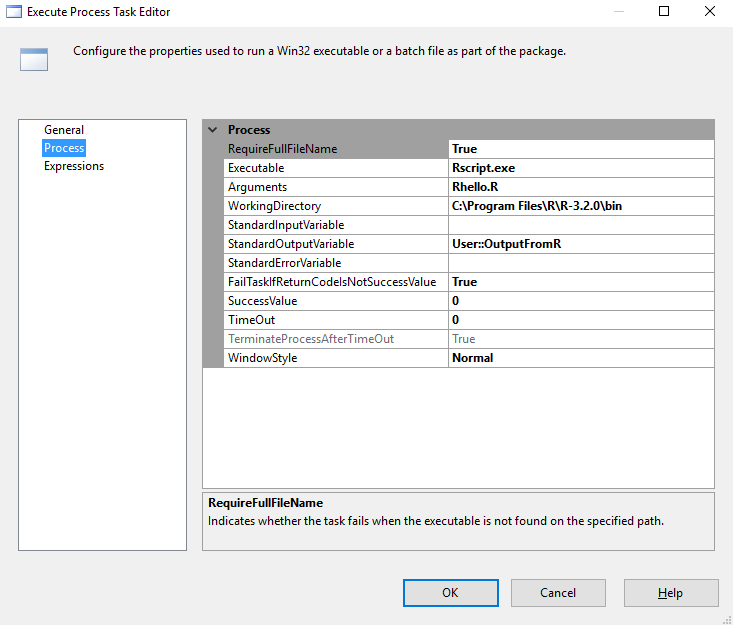 Operationalizing R script as part of SSIS - SQL Server 2017
