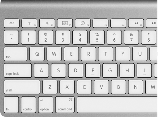 Keyboard Differences - Switching to the Mac: The Missing