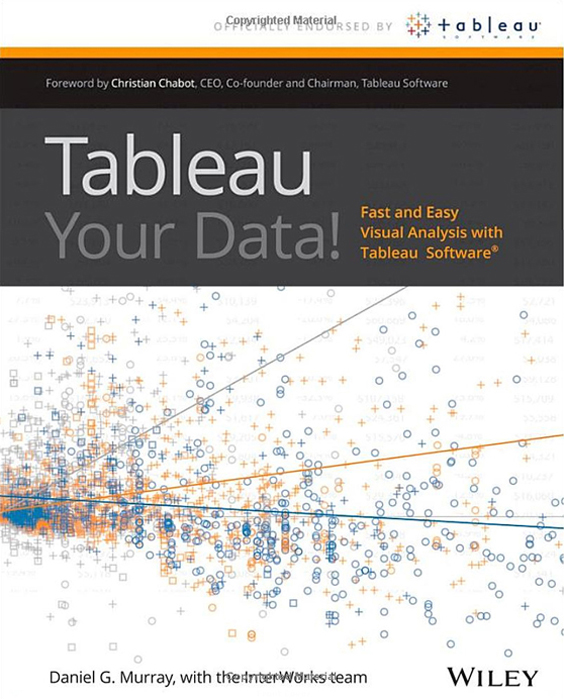 Cover Page - Tableau Your Data!: Fast and Easy Visual
