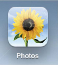 The Photos app icon