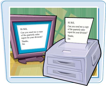 Preview a Document Before Printing