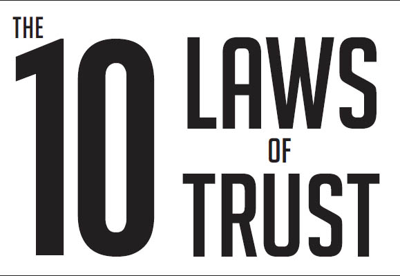 Title The 10 Laws Of Trust Book
