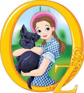Illustration of the character Dorothy.