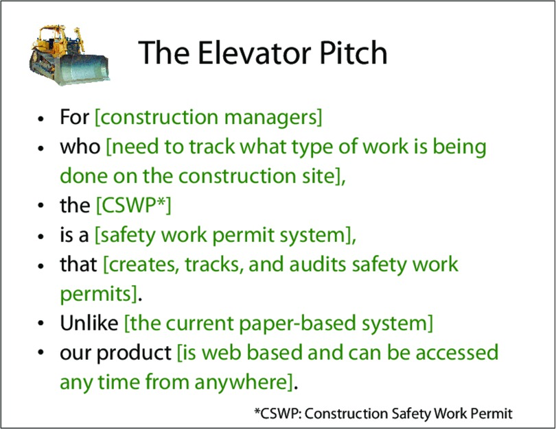 Best elevator pitches