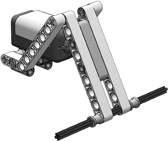 touch sensor bumper - The Art of LEGO MINDSTORMS NXT-G