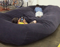 Figure A Our Finished Bad Beanbag Sofa Bed