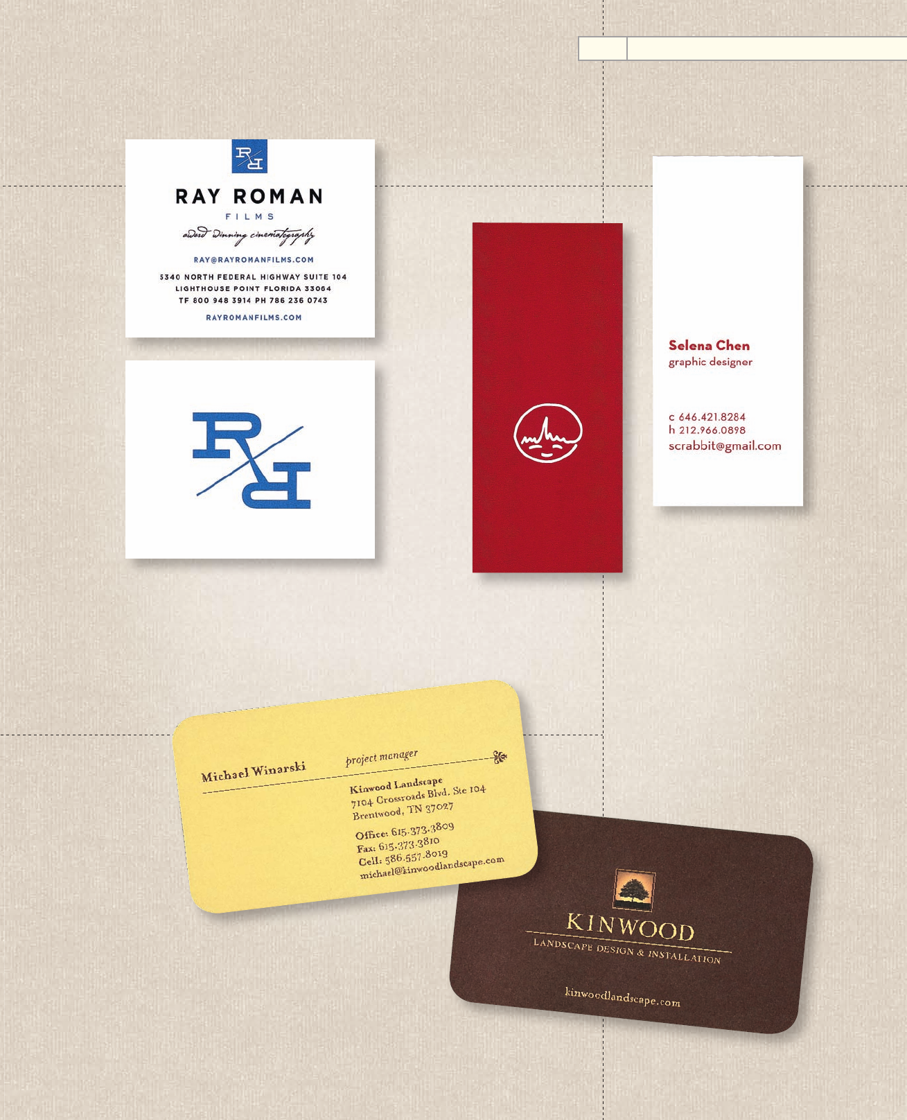 MINIMAL DESIGNIOUS (2/9) - The Best of Business Card Design