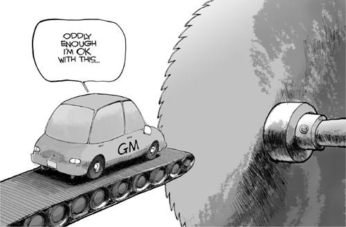 Bankrupt GM