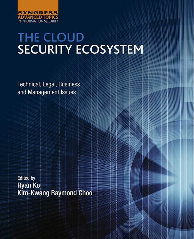 Cover image - The Cloud Security Ecosystem [Book]