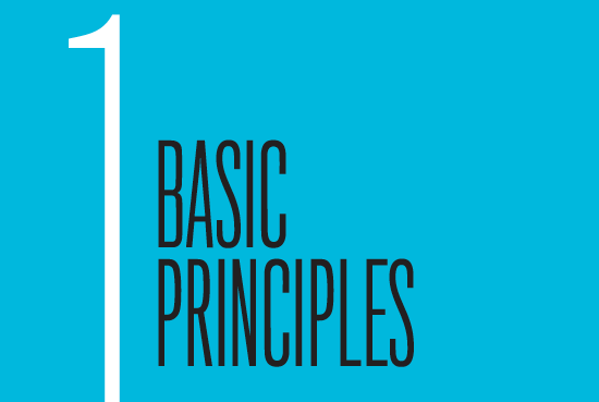 Chapter 1: Basic Principles
