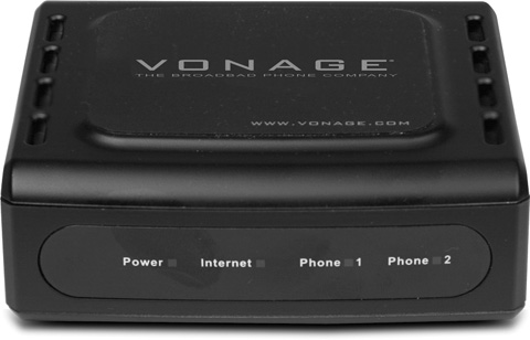 An analog telephone adapter, like the D-Link VTA-VR shown here, links your telephones to your broadband network so you can use them with your VoIP service. This particular D-Link box works with the Vonage service (Section 18.2.2).