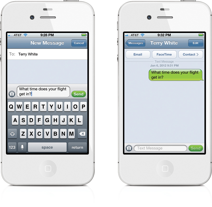 new iphone text messages iphone new iphone messaging 5094
