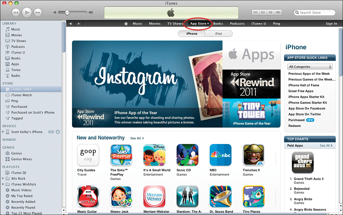 app store for iphone 4s