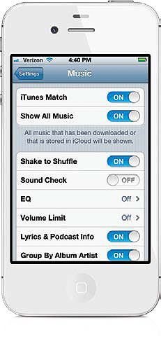 Using iTunes Match to Back Up Your Other Songs to iCloud - The