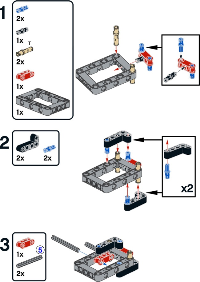 15 Building The T R3x The Lego Mindstorms Ev3 Laboratory Book