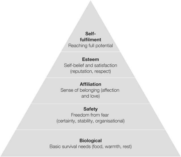 Abraham maslow theories of motivation