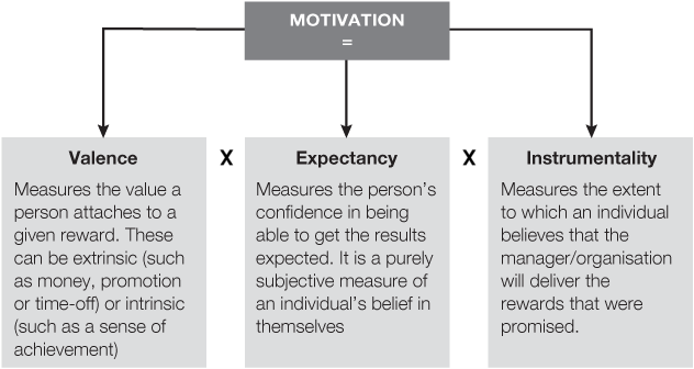 expectancy theory model