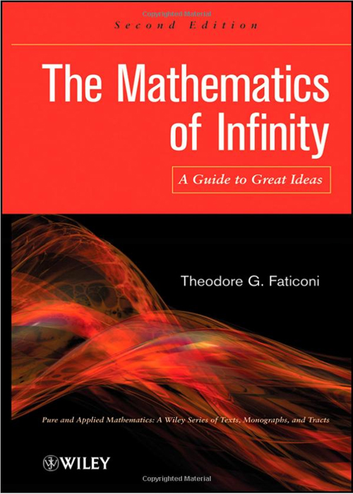 Cover Page - The Mathematics of Infinity: A Guide to Great