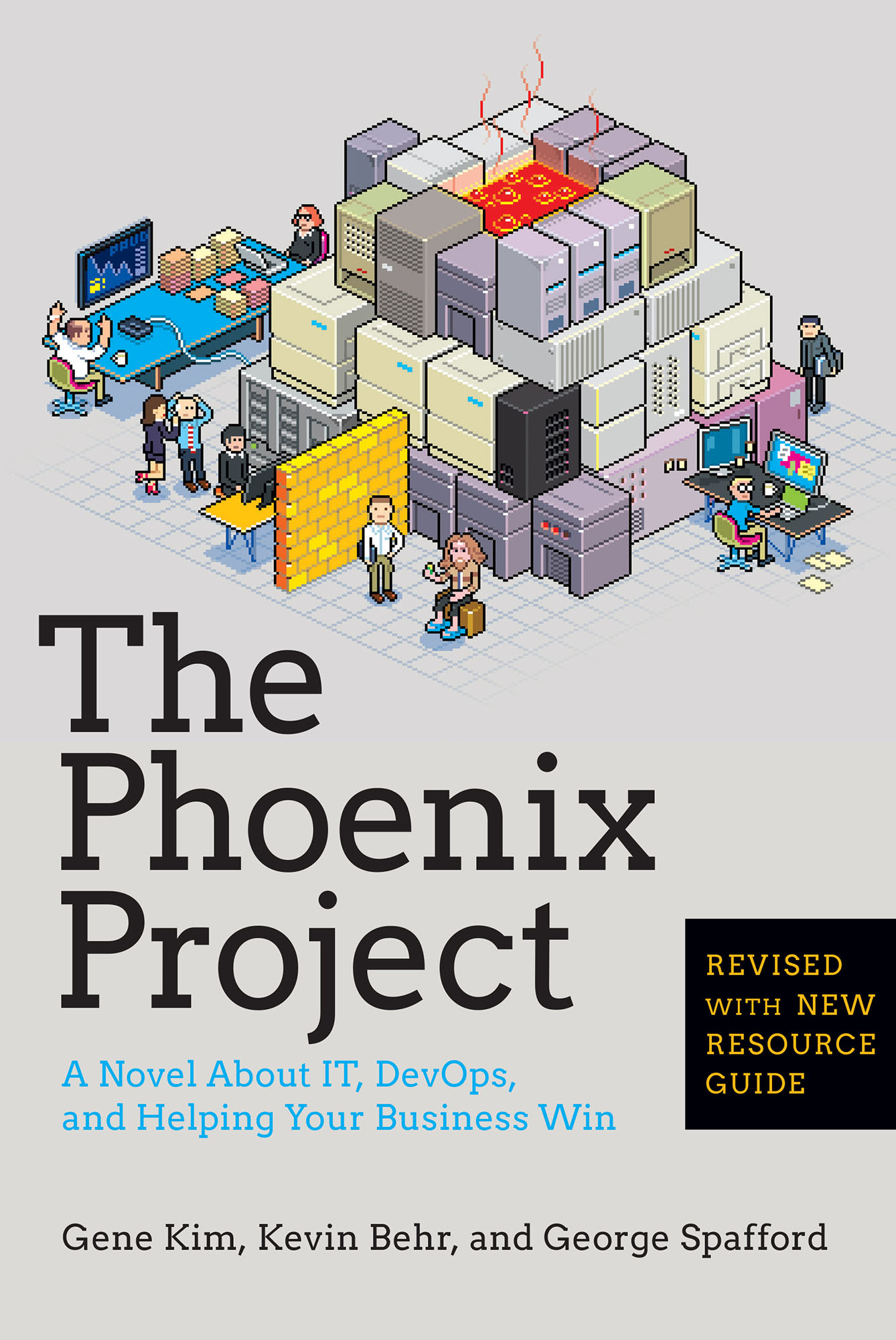 The Phoenix Project: Cover - The Phoenix Project [Book]