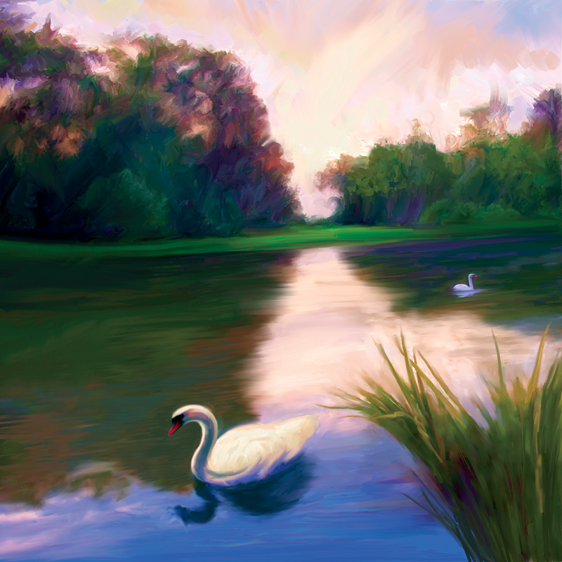 11 Defining The Focal Point The Photoshop And Painter