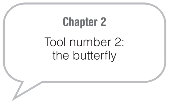 Chapter 2: Tool number 2: the butterfly