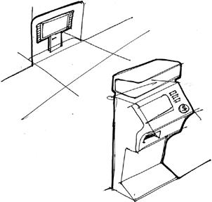 chapter 7 design thinking ideation and sketching the ux book book Commercial Kitchen Fire Suppression System figure 7 10 ideation and design exploration sketches for the ticket kiosk system