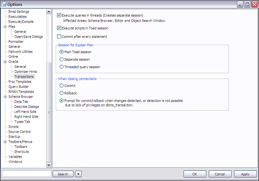 Cancel Query Execution or Fetch - Toad for Oracle Unleashed