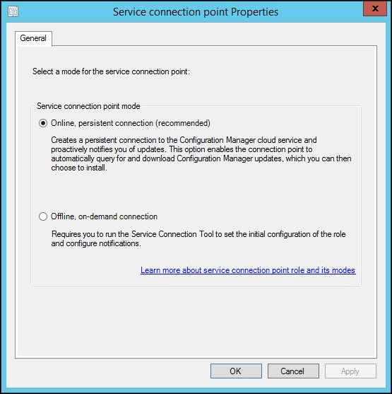 Service Connection point - Troubleshooting System Center
