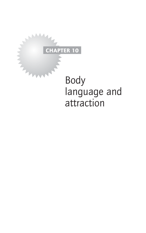 Chapter 10: Body language and attraction
